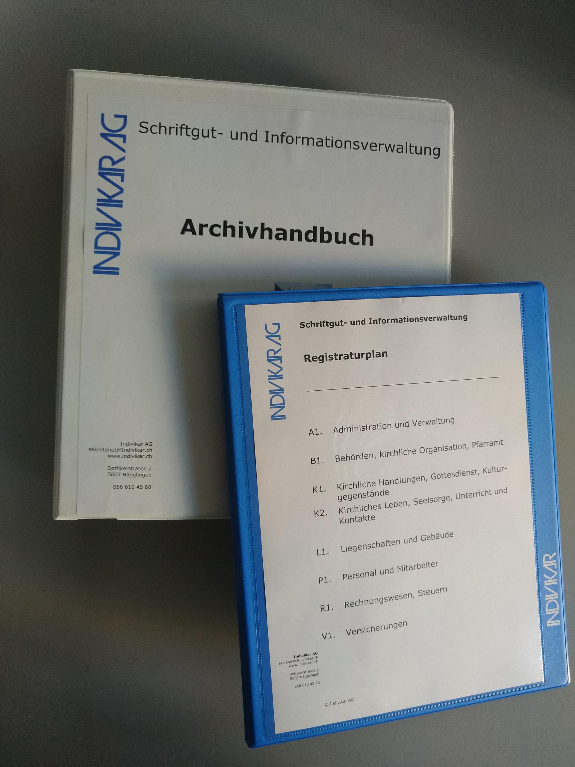 Registraturplan & Archivhandbuch